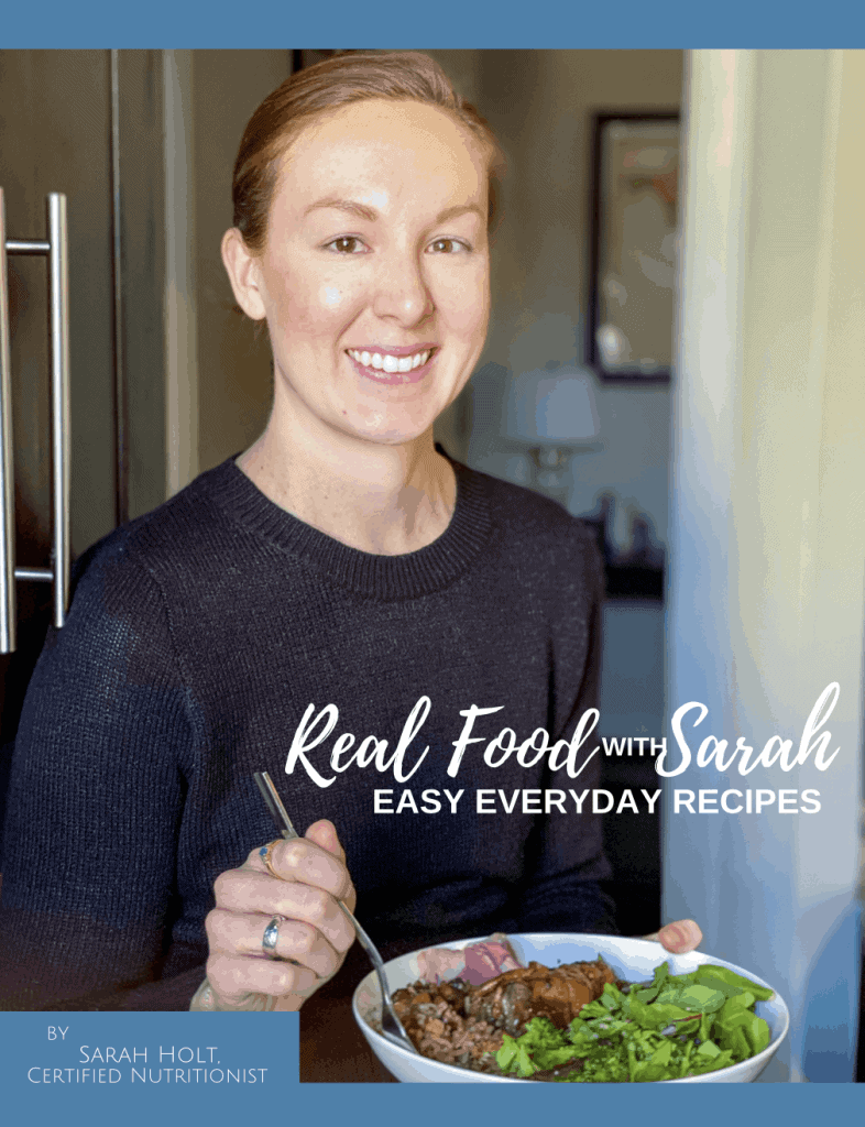 Real Food with Sarah ebook