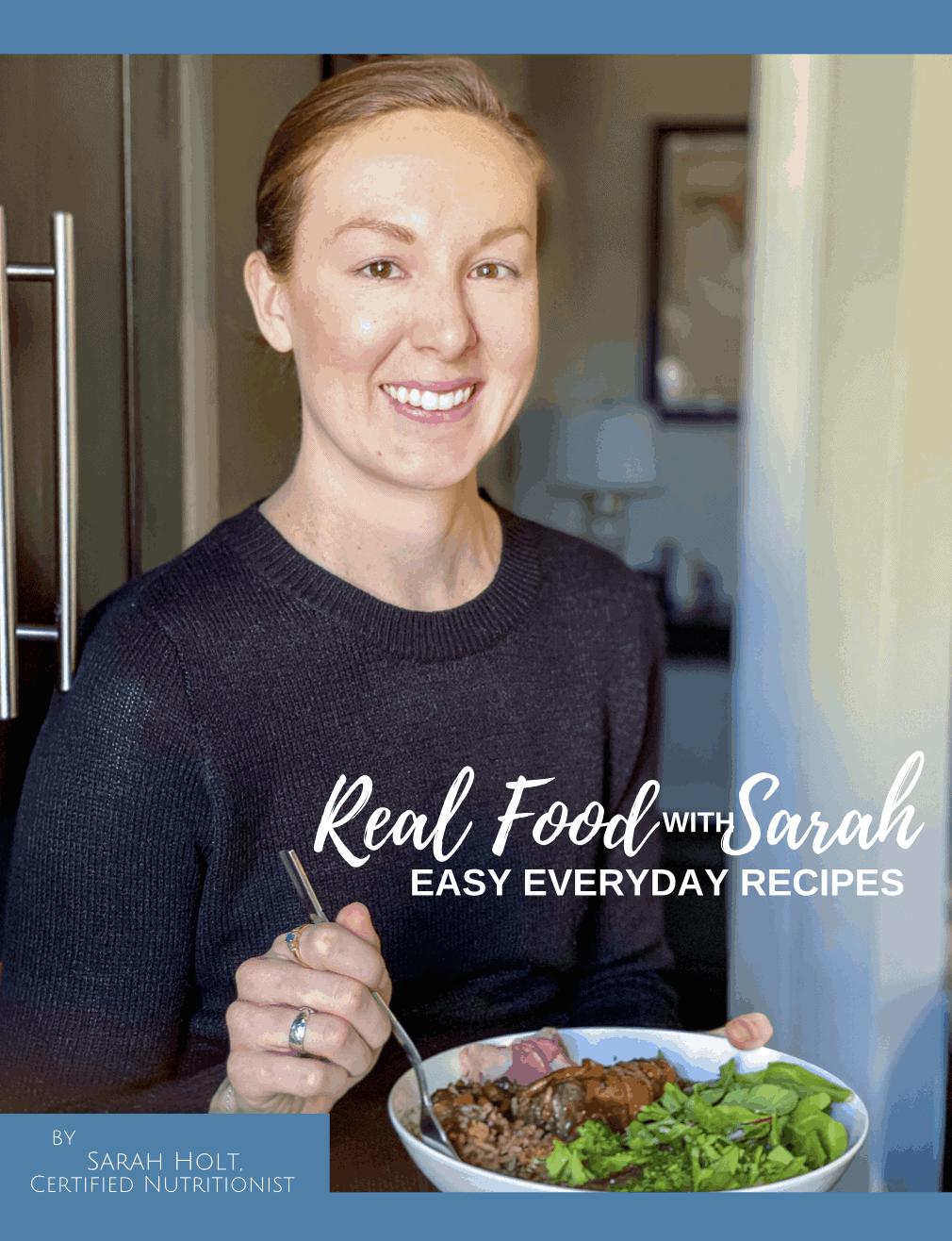 Real Food with Sarah ebook