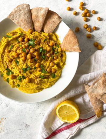 Cumin Turmeric Spiced Hummus