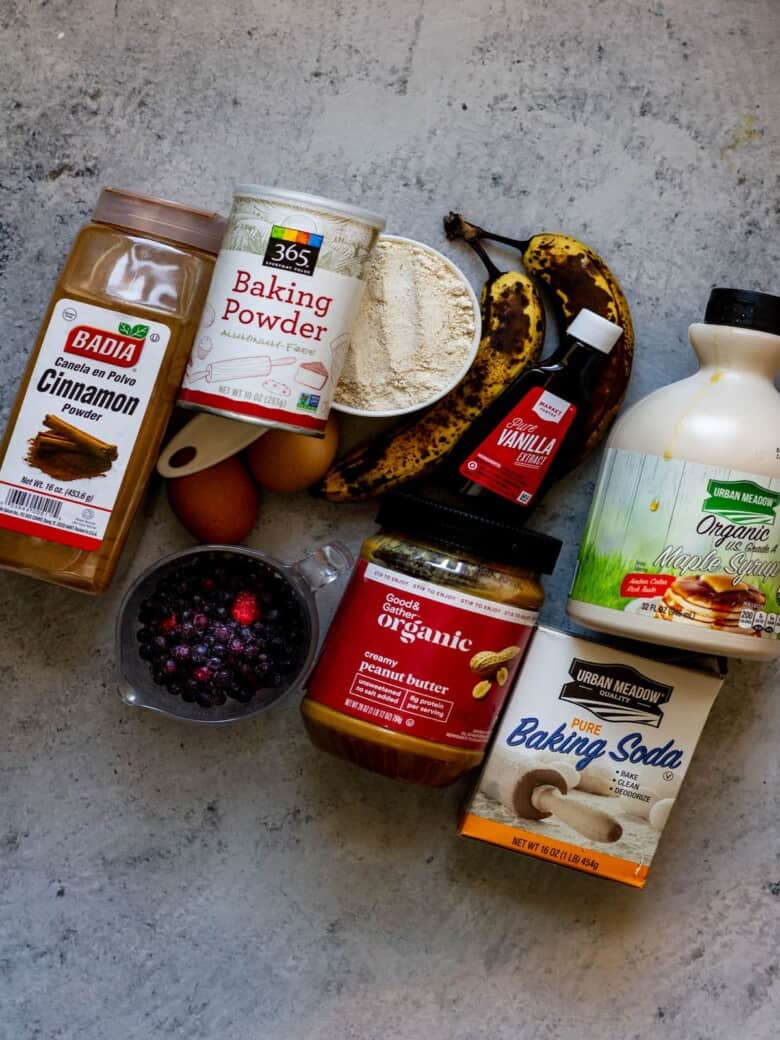 peanut butter and jelly banana bread ingredients