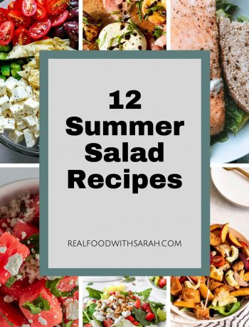 6 summer salad pictures pin for pinterest