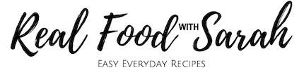 Real Food with Sarah logo