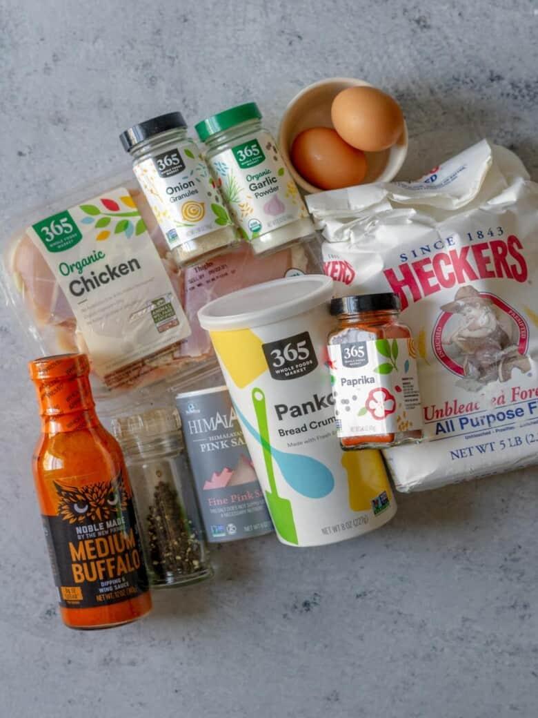 air fryer buffalo chicken sandwich ingredients