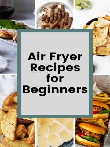 air fryer recipes for beginngers