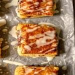 glazed air fryer toaster strudels